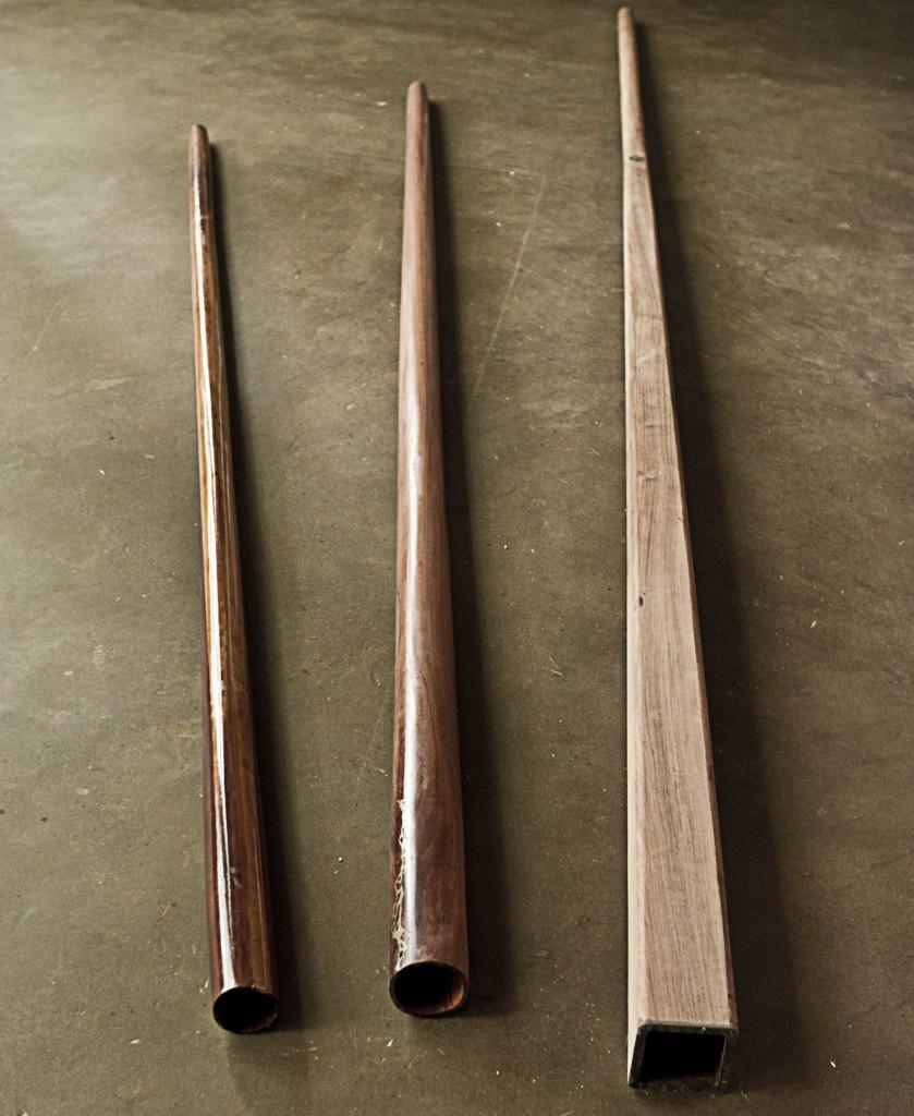 3 Iglica didgeridoos